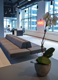 The lobby at Havas