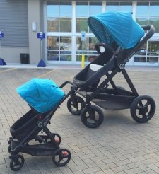 The enormous baby stroller