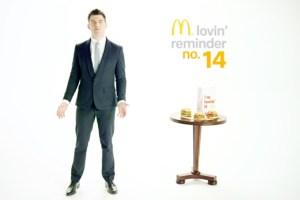 Kaufman's reel includes work for McDonald's