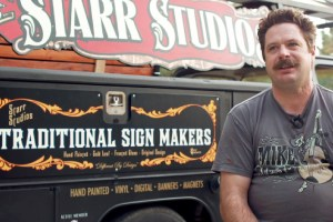 """Macon and Levine's feature doc, """"Sign Painters"""""""