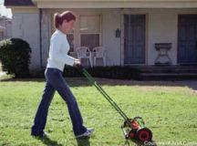 Homeowners Discover the Quiet Simplicity of Reel Mowers ...