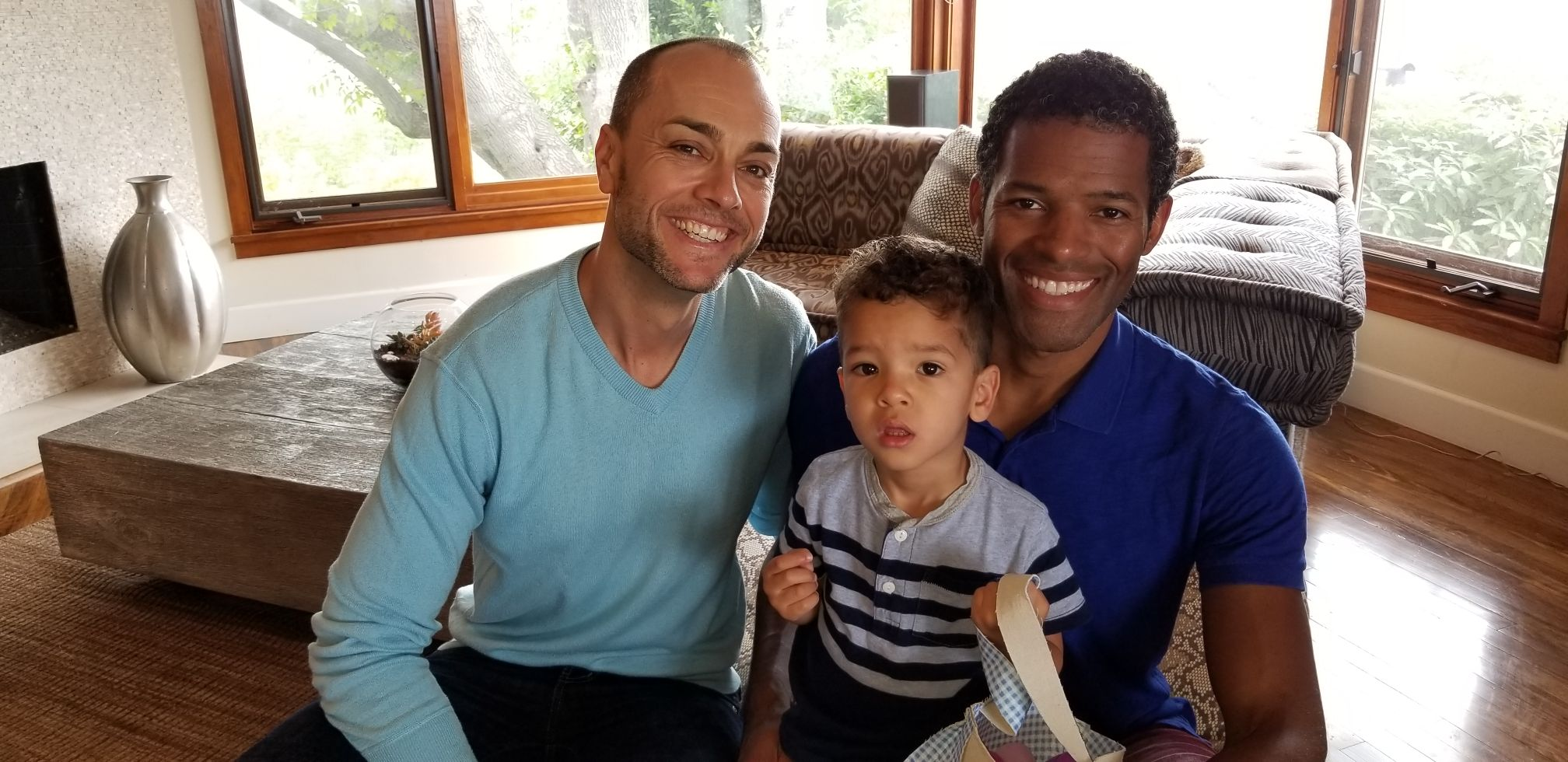 A 21st Century Father's Day: Michael Moody and Benjamin