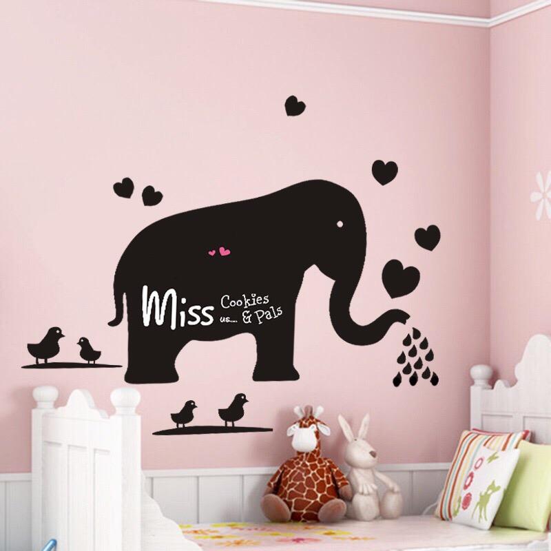 Wandtattoo Elefant