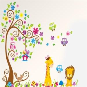 Wandbild Tiere