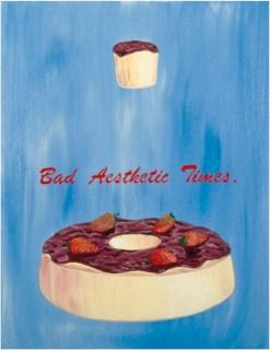 Bad Aestethic Times Óleo sobre tela 1998