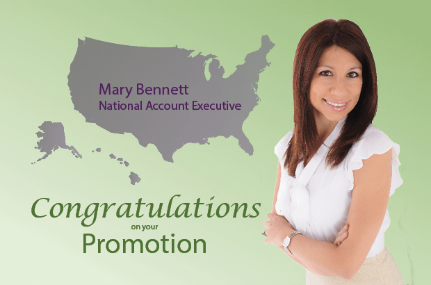 Mary Bennett Promoted to National Account Executive