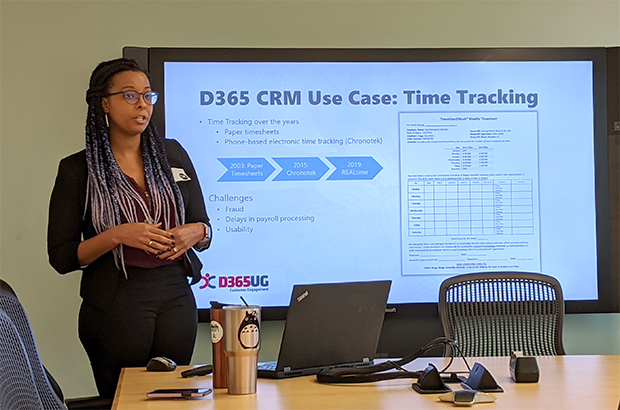 REALtime Presentation Given by Arielle Theodore, Senior CRM Analyst