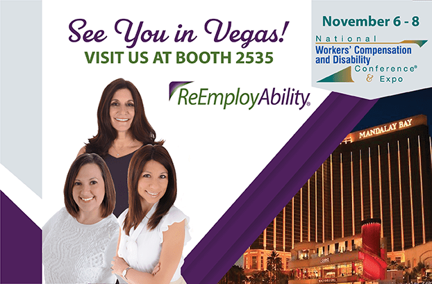 Visit Booth #2535 at NWCDC '19 and Meet the Experts in Return-to-Work Services