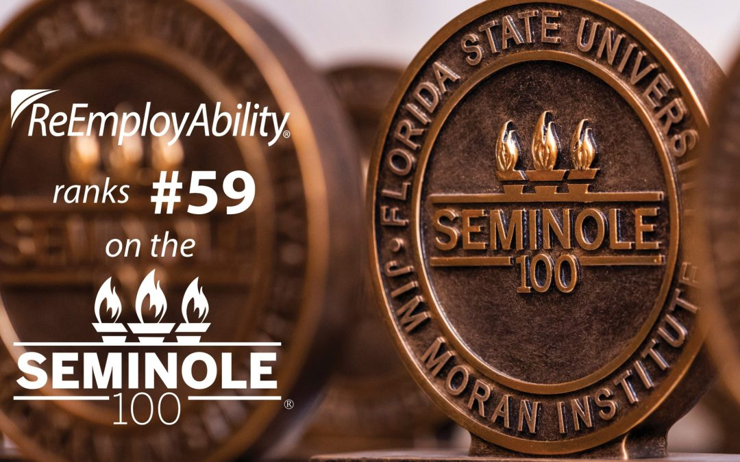 ReEmployAbility Secures a Spot for Second Year on Seminole 100 List