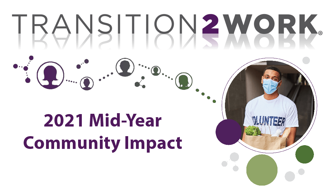 Transition2Work Program Makes a $18 Million Impact on Communities Across the Country in First Half of 2021