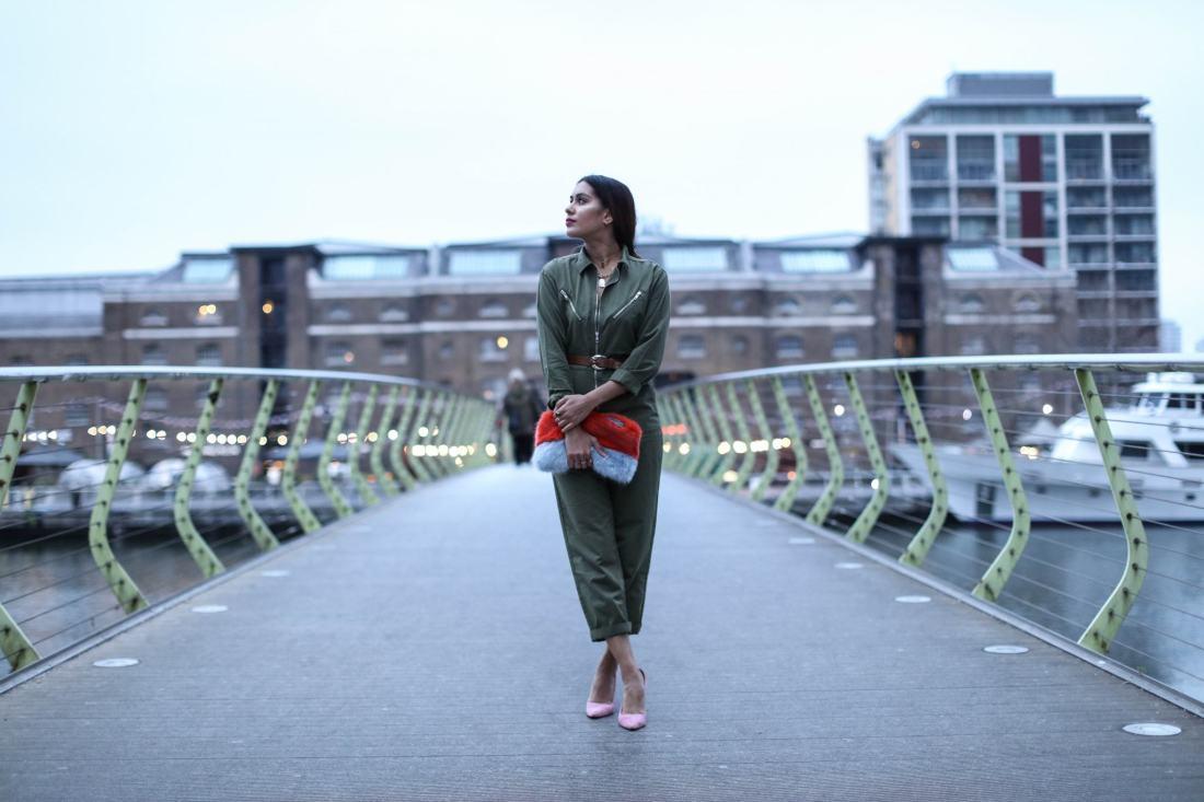 Topshop Utility Boilersuit worn by Reena Rai
