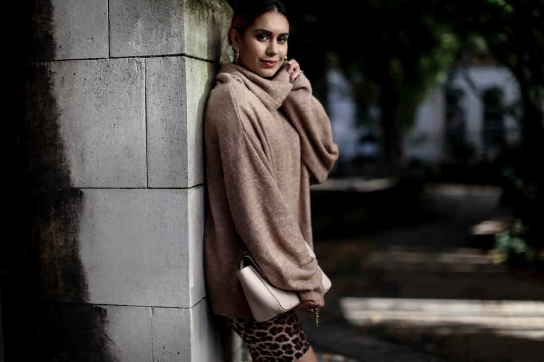 London blogger Reena Rai at St Dunstan of the East