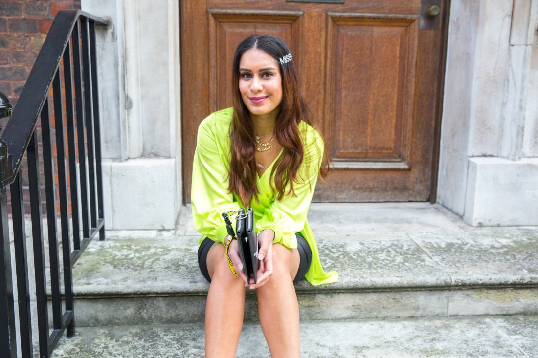 Uk blogger Reena Rai