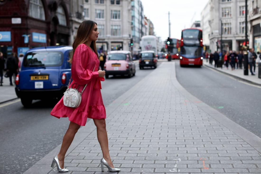 Reena Rai British Asian fashion blogger