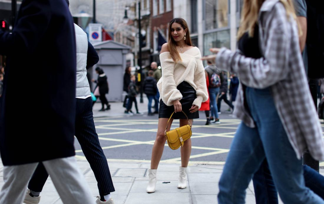 Street style london and affordable handbags