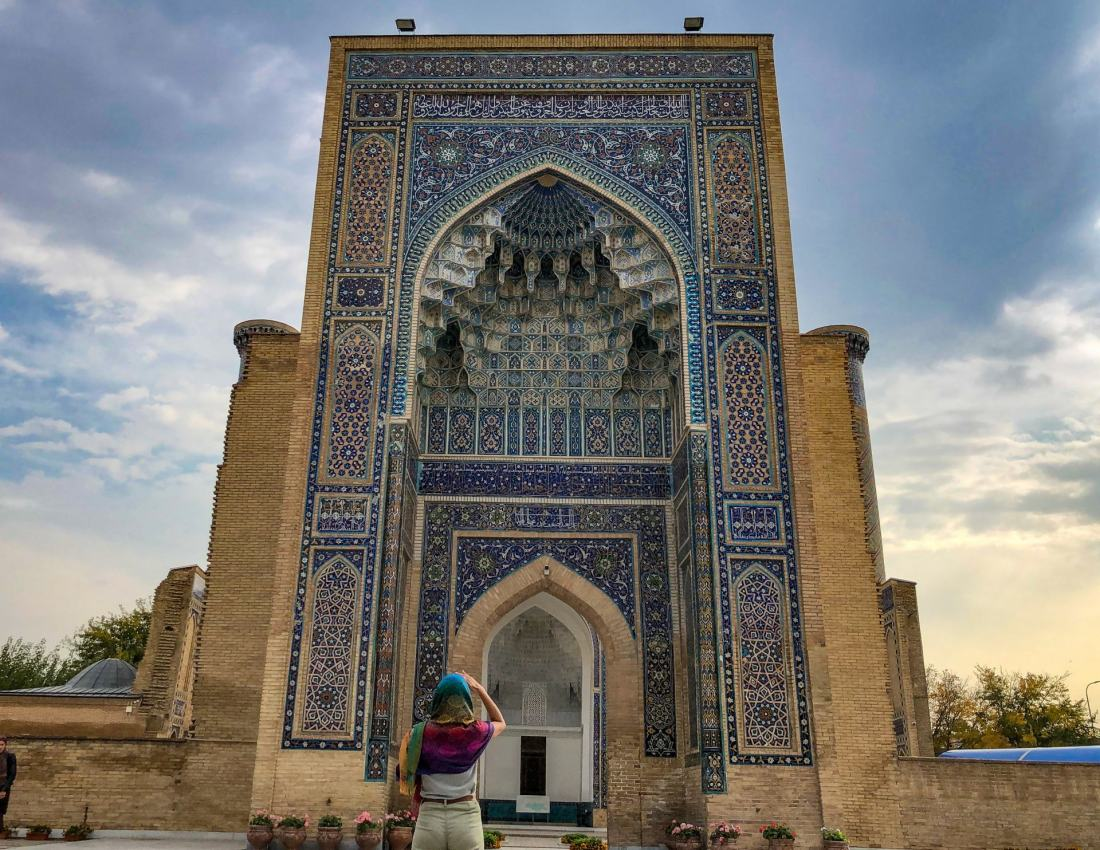 Solo female travel in Uzbekistan 2020