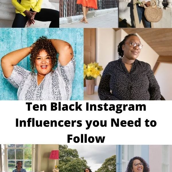 Ten Black Instagram Influencers you Need to Follow