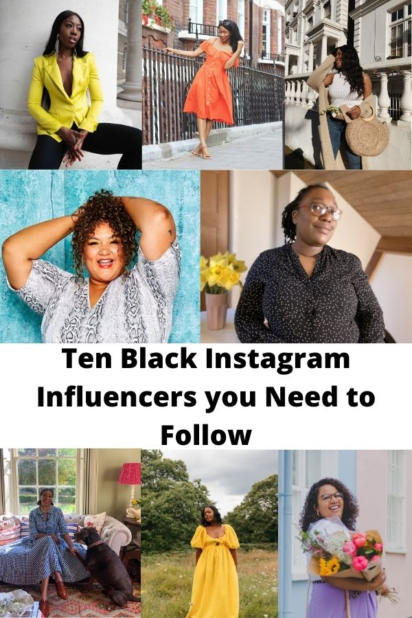 Black UK Instagram Influencers to Follow