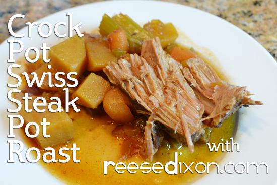 Swiss Steak Pot Roast