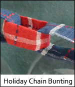 Holiday Chain Bunting