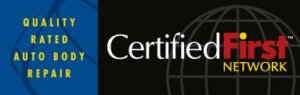 certified first auto body repair seal