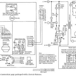 York Electric Furnace Wiring Diagram Schematic Ac Unit Thermostat Library Gas Data Diagramoil Fired Forced Air Diagrams