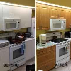 Kitchen Cabinet Refacing Cost Portable Mixers Before And After Pictures Of Call