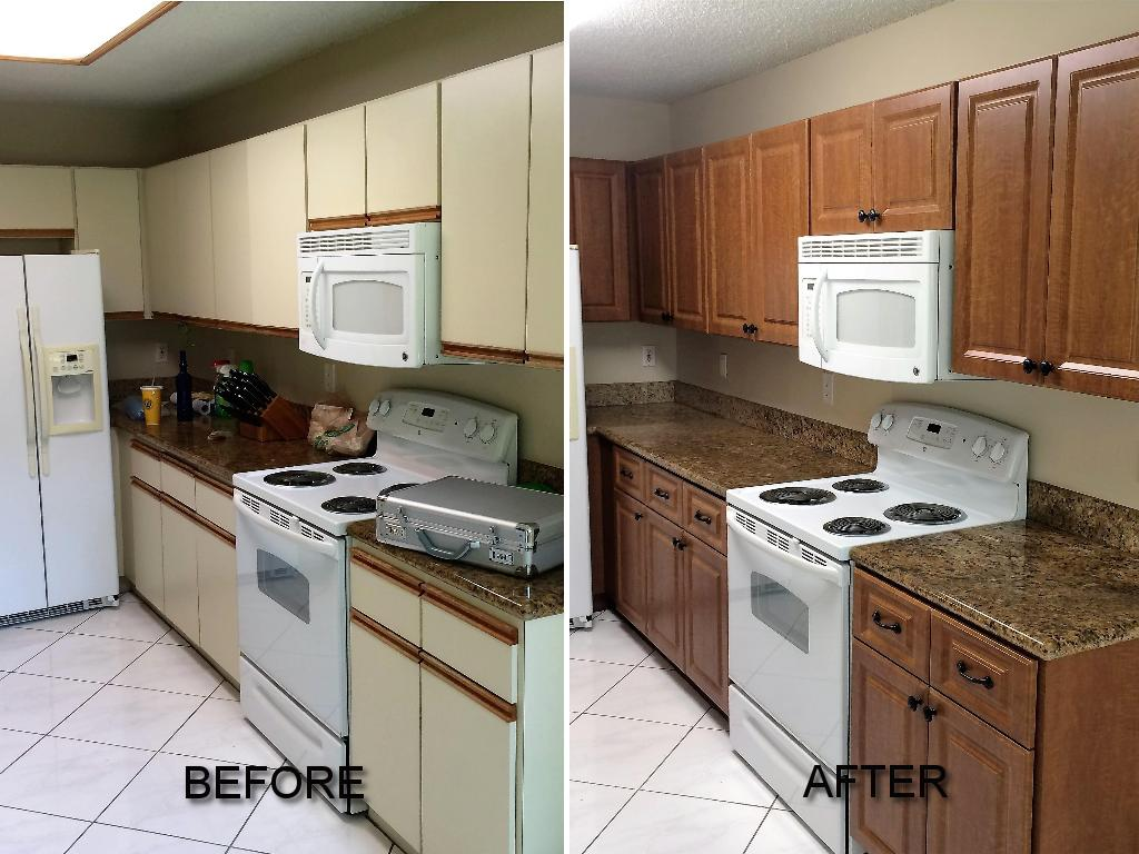 cost of refacing kitchen cabinets 7 piece table set before and after pictures cabinet call