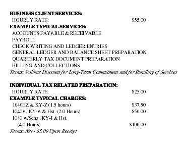 Accounting Service Business Plan