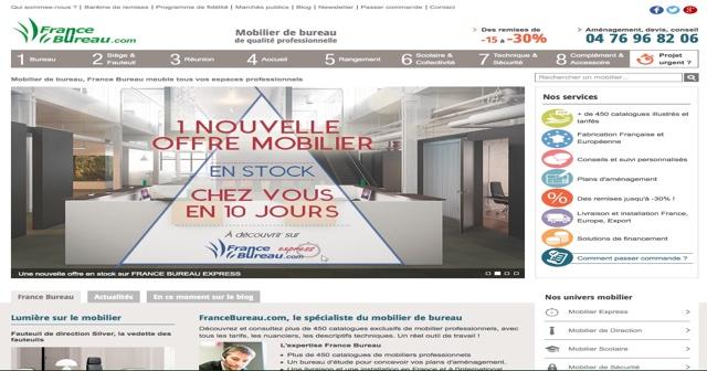 Brioude Internet, accompagne la société Francebureau.com