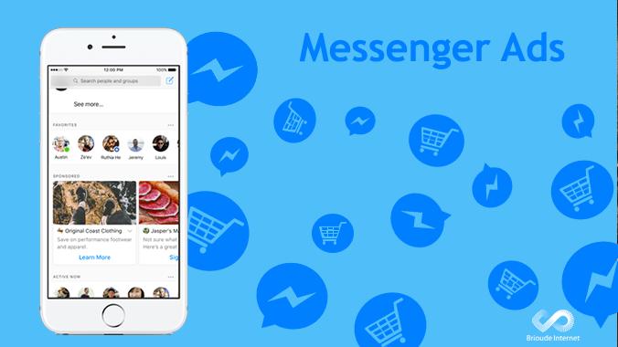 La publicité arrive sur Facebook Messenger