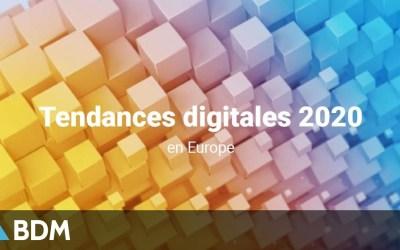 Marketing : étude sur les tendances digitales 2020 en Europe