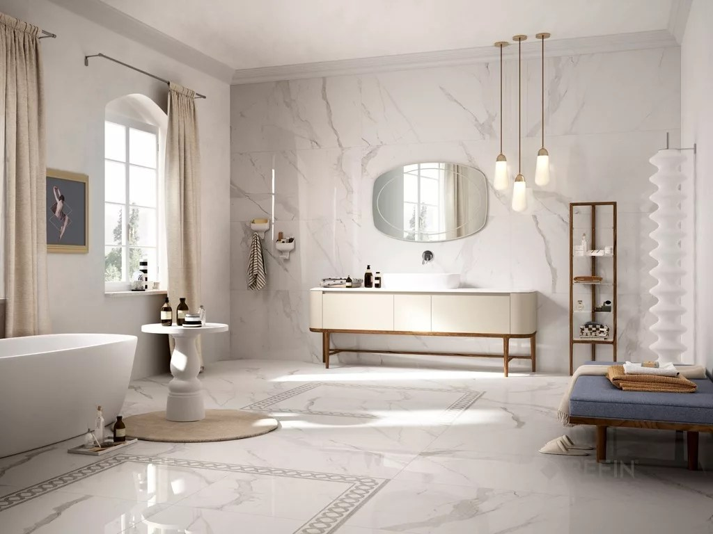 Marble Look Tile  Travertine Tile  Prestigio