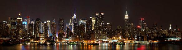 """Manhattan from Weehawken, NJ"" by Dmitry Avdeev"