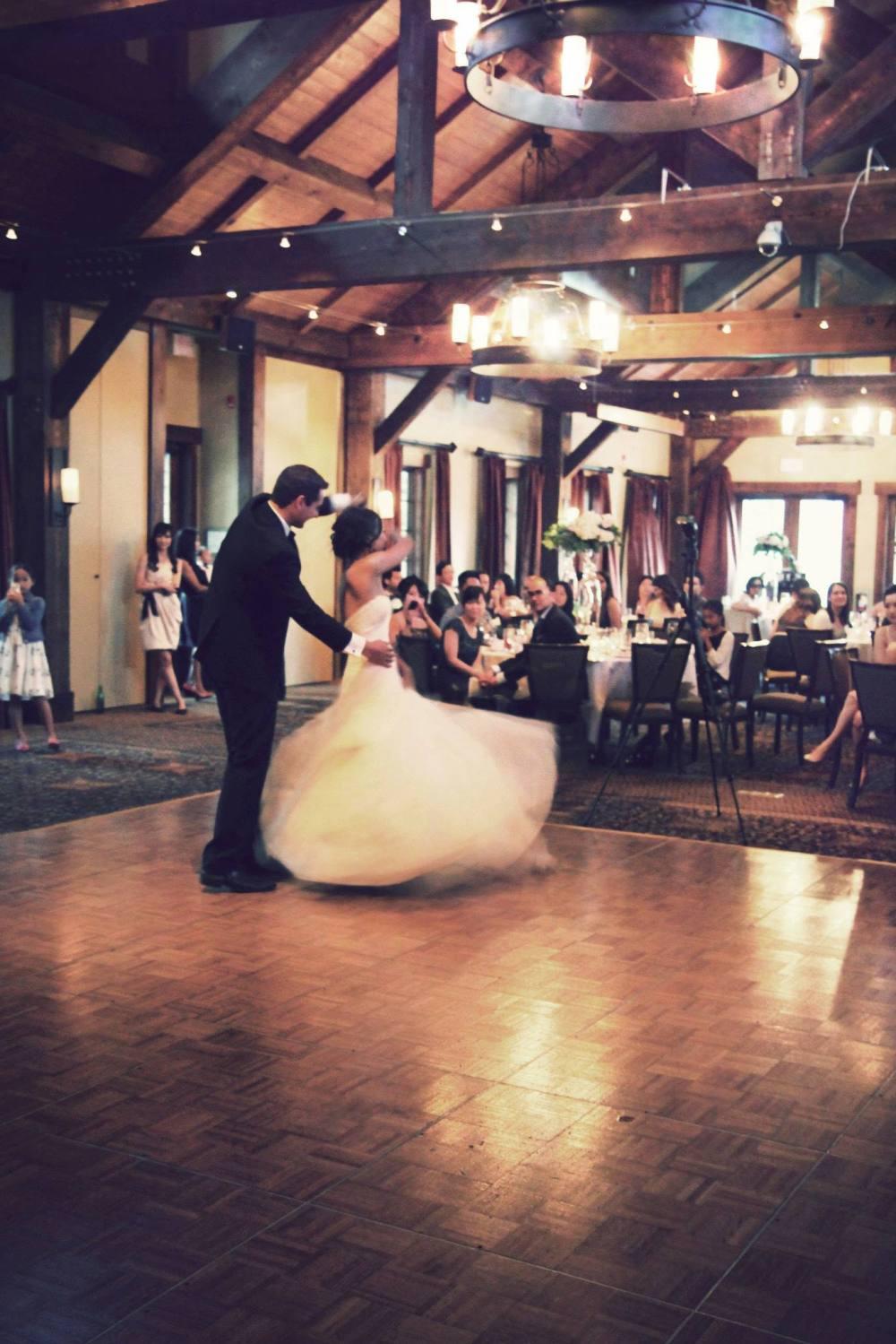 Soundslikeknock first wedding dance photo