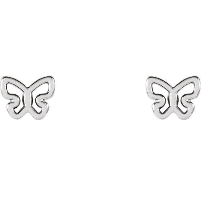 Mod Butterfly Earrings