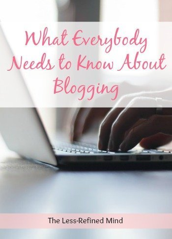 The good, the bad, and the ugly: what everybody needs to know about blogging. Looking at the unique industry and challenging the perceptions of many who dismiss the hard work and dedication involved in setting up and maintaining a website and blog.