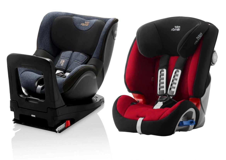 Britax Dualfix i-Size and Multitech III