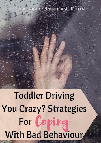 #Struggling to cope with your toddler's difficult behaviour? Here are #tips and #advice for coping with #toddler #tantrums when you have #burnout and need a break.