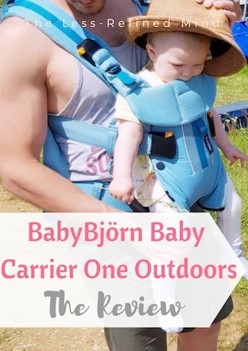If you're looking for a versatile baby carrier which is ideal for all weather, check out the BabyBjörn Baby Carrier One Outdoors. #babycarrier #babywearing