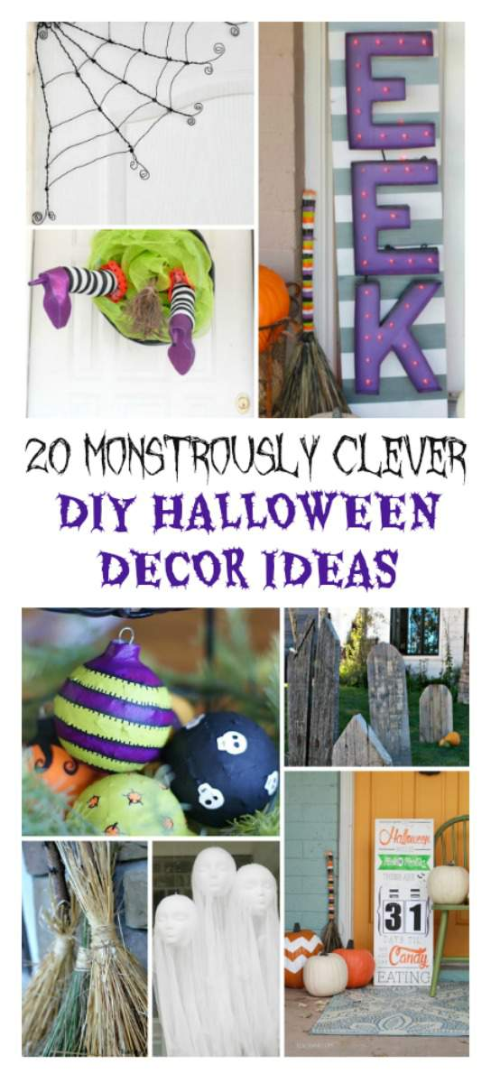 20 Diy Halloween Decor Ideas That Are Monstrously Clever