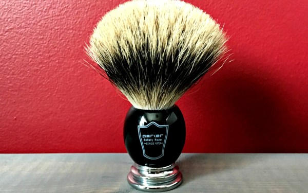 Parker Deluxe Pure Badger Shaving Brush Review