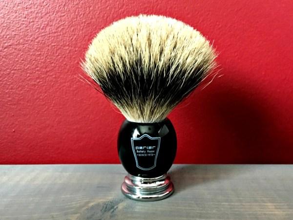 Parker Deluxe Pure Badger Shaving Brush Review