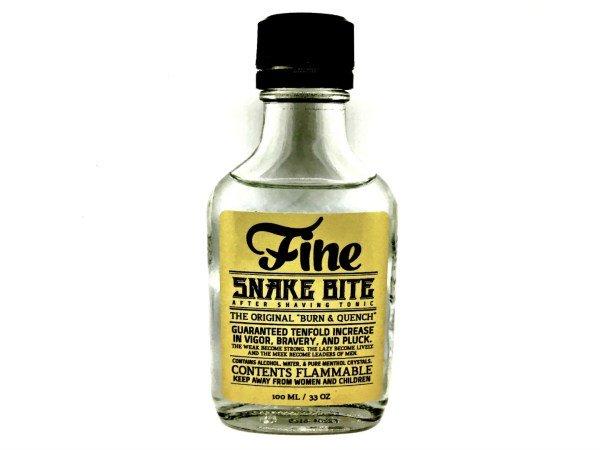 Fine Snake Bite After Shaving Tonic Review