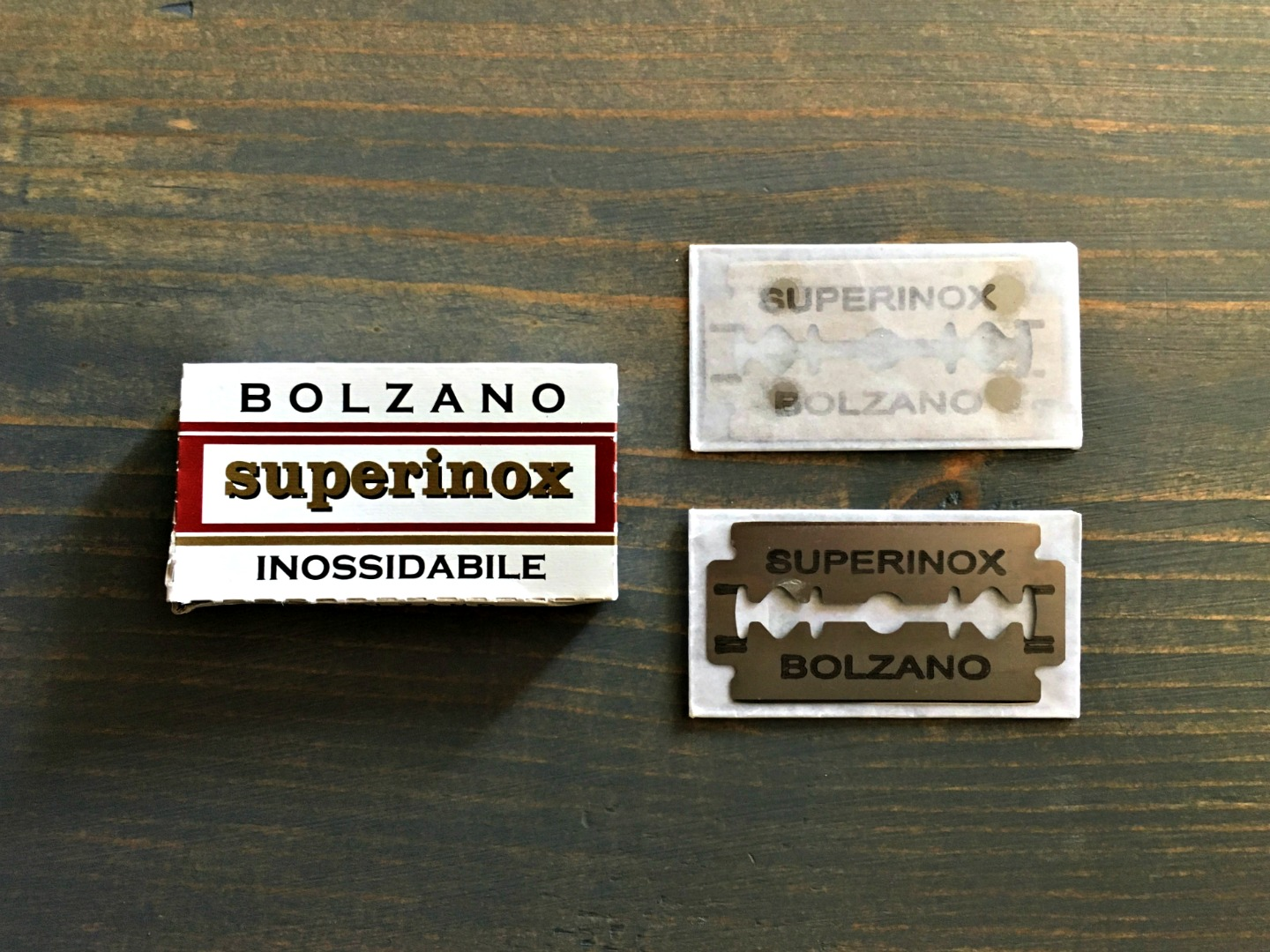 Bolzano Superinox Inossidabile Razor Blade Review