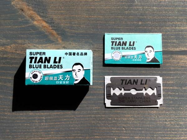 Super Tian Li Blue Blades Razor Blade Review