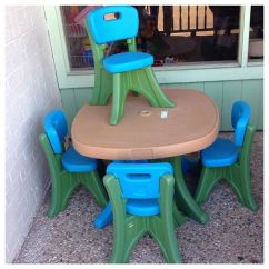 Just Chairs And Tables Cream Colored Accent In Great Step 2 Table Refinery Kids