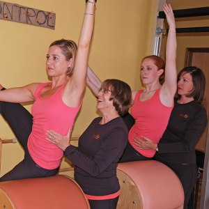 Individualized Pilates instruction.