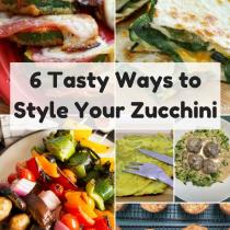 Zucchini, the versatile veggie