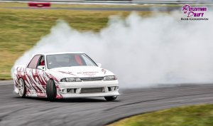 Adam LZ drifting at Lock City Drift